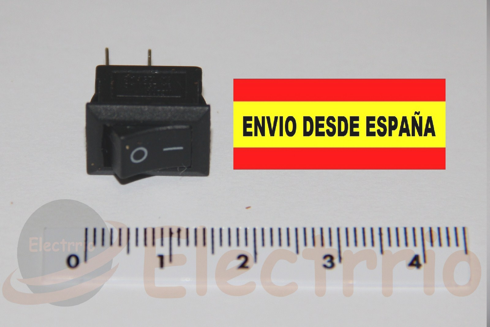 EL2215 MINI INTERRUPTOR 2 POSICIONES 250VAC 3A mininterruptor electrónica switch